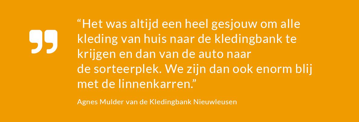 Kledingbank Nieuwleusen- projecten- bijdrage stichting voor elkaar-unive verzekeringen--unive verzekeringen-Univé Stad en Land