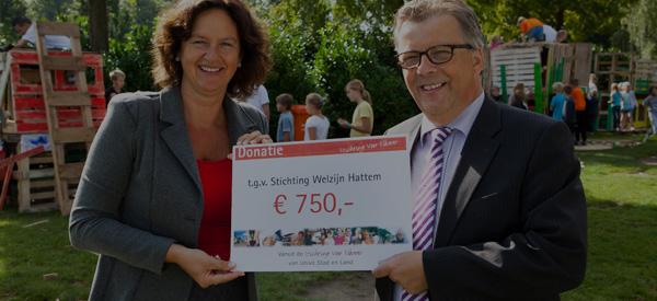 hattem-stichting welzijn Hattem-donatie-stichting voor elkaar-unive verzekeringen-unive verzekeringen-Univé Stad en Land