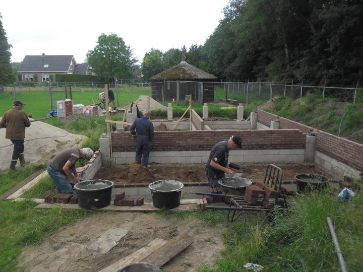 St. Hertenkamp Klarenbeek start met bouw nieuw dierenverblijf