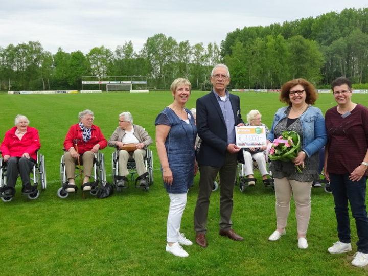 Rolstoelen voor Stichting de Zonnebloem regio gemeente Voorst