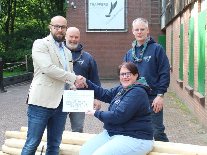 Pionierhout voor Scoutinggroep de Trappers uit Hoogezand