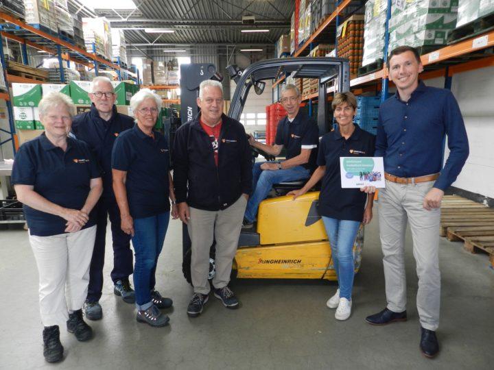 Bedrijfskleding voor vrijwilligers Voedselbank Deventer